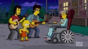 The Simpsons 22x01 : Elementary School Musical- Seriesaddict